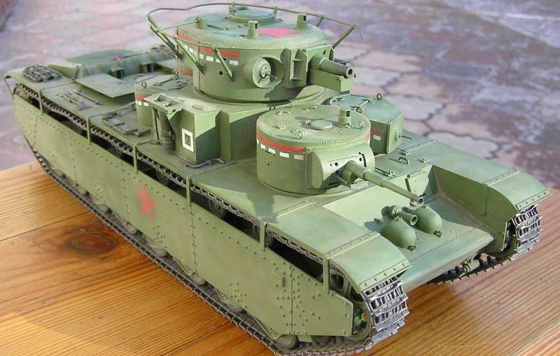Компания РПК > Модели > Alanger > ALG-35004 ALG-35004 1/35 Т-35 ...