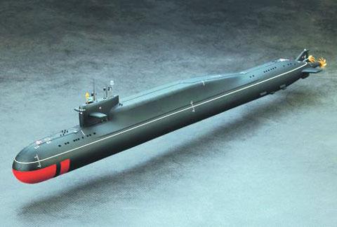 Атомный ракетный подводный крейсер