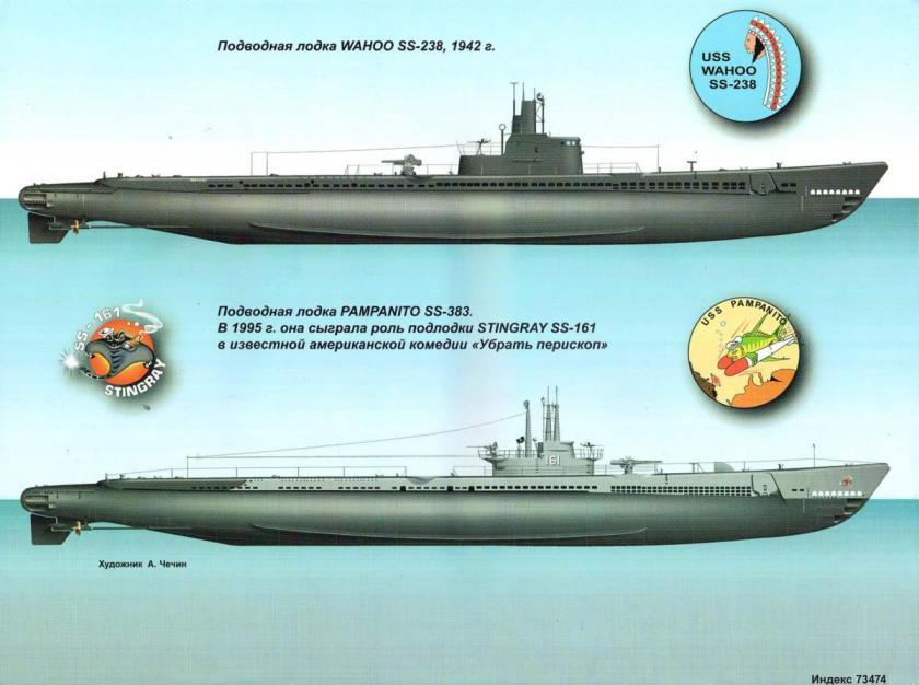 американские подводные лодки в первой мировой